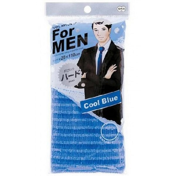 мочалка массажная жесткая для мужчин o:he men body towel normal