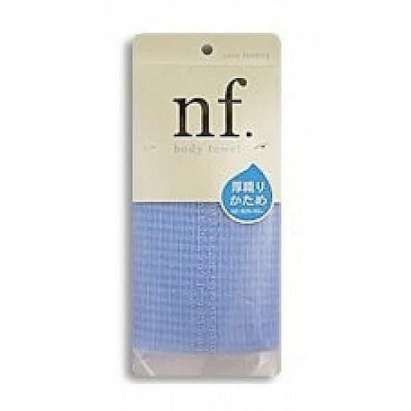 массажная мочалка жесткая o:he nf body towel hard blueNF Body Towel Hard Blue. Массажная мочалка жесткая<br><br>Специальное плетение нейлоновых нитей способствует созданию великолепной устойчивой пены, даже с небольшим количеством геля. <br><br>Применение этой мочалки для мытья помогает расслабиться, восстанавливает и тонизирует Ваше тело. <br><br>После мытья мочалку необходимо очистить от остатков мыла и высушить.<br><br>Состав: 100% нейлон. 20x100 см.<br>
