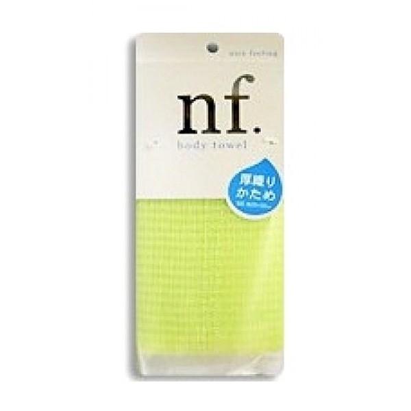 массажная мочалка жесткая o:he nf body towel hard greenNF Body Towel Hard Green. Массажная мочалка жесткая<br><br>Специальное плетение нейлоновых нитей способствует созданию великолепной устойчивой пены, даже с небольшим количеством геля. <br><br>Применение этой мочалки для мытья помогает расслабиться, восстанавливает и тонизирует Ваше тело. <br><br>После мытья мочалку необходимо очистить от остатков мыла и высушить.<br><br>Состав: 75% хлопок, 25% нейлон. 28x100 см.<br>
