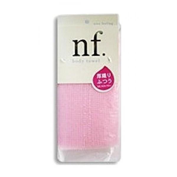 массажная мочалка средней жесткости o:he nf body towel middle hard pinkNF Body Towel Middle Hard Pink. Массажная мочалка средней жесткости<br><br>Специальное плетение нейлоновых нитей способствует созданию великолепной устойчивой пены, даже с небольшим количеством геля. <br><br>Применение этой мочалки для мытья помогает расслабиться, восстанавливает и тонизирует Ваше тело. <br><br>После мытья мочалку необходимо очистить от остатков мыла и высушить.<br><br>Состав: 75% хлопок, 25% нейлон. 28x100 см.<br>