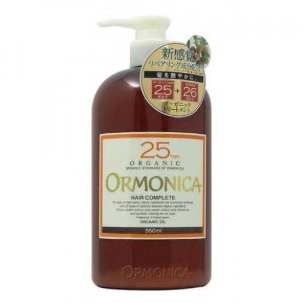 органический бальзам для ухода за волосами и кожей головы ormonica ormonica organic scalp care completeORMONICA ORGANIC SCALP CARE COMPLETE. Органический бальзам для ухода за волосами и кожей головы<br><br>Бальзам создан на основе растительных экстрактов и масел. Содержит 25 органических компонентов и 26 природных компонентов. В составе 95% натуральных ингредиентов!<br><br><br>9 органических масел (ши, лаванды, цветов дамасской розы, розмарина, оливковое, жожоба, семян малины, семян подсолнечника, кунжутное) увлажняют волосы и кожу головы, делают волосы гладкими, упругими и послушными. Предотвращают появление секущихся кончиков.&amp;nbsp;<br><br>Органические масла семян брокколи, клюквы и граната придают блеск и разглаживают волосы, придавая им цветущий вид.<br><br>Экстракты коры и корней растений освежают кожу головы и поддерживают корни волос в здоровом состоянии.<br><br><br><br>Не содержит силикона, ПАВ на основе нефтепродуктов, минеральных масел, синтетических красителей и парабенов. Гипоаллергенный. Обладает ароматом трав. Эффект ароматерапии.<br><br>Способ применения: нанести средство (2-3 нажатия) по всей длине увлажненных волос после мытья шампунем. Через 2-3 мин. смойте. Для окрашенных и поврежденных волос увеличьте время до 5-10 мин., используя шапочку для душа. Для достижения наилучшего эффекта используйте после шампуня ORMONICA ORGANIC.<br><br>Меры предосторожности: не использовать при наличии ран, экзем и прочих изменений на коже. Избегать попадания в глаза. При попадании в глаза немедленно промыть их водой. Избегать прямого попадания солнечных лучей, воздействия предельно высоких и низких температур, высокой влажности. Хранить в недоступном для детей месте. Бальзам содержит растительные компоненты, поэтому его цвет может измениться, что не влияет на качество товара.<br><br>Состав: вода, бегениловый спирт, глицерин, пропандиол, стеарамид пропил диметиламин, лаурат метилгептил, димер линолиевой кислоты, триглицерид каприловой и каприновой кислот, масла с