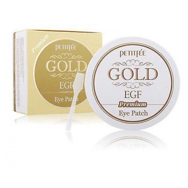 маска гидрогелевая с золотом и egf премиум petitfee gold &amp; egf eye &amp; spot patch premiumGold &amp;amp; EGF Eye &amp;amp; Spot Patch&amp;nbsp;Premium. Маска для кожи вокруг глаз гидрогелевая с золотом и EGF Премиум содержит коллоидное золото, EGF и комплекс растительных компонентов, замедляющий процесс старения кожи.<br><br>После использования маски Ваша кожа становится упругой, сияющей и здоровой!<br><br>В человеческом теле всегда присутствует слабое электрическое напряжение. Оно связано с движением положительных и отрицательных ионов. Золото в составе маски нормализует движение ионов, тем самым активизируя циркуляцию крови, физиологические функции и регенерацию клеток кожи.<br><br>Активные компоненты:<br><br><br>&amp;nbsp;&amp;nbsp;&amp;nbsp; Коллоидное золото превосходно подтягивает кожу, разглаживает морщины, устраняет эффект усталой кожи, придает фарфоровый цвет лицу и матовое сияние кожи.<br><br>&amp;nbsp;&amp;nbsp;&amp;nbsp; EGF - фактор роста эпидермиса, регенерации клеток. Замедляет процесс старения, способствует обновлению клеток эпидермиса, сохраняя молодость кожи, защищает кожу от повреждений и раздражений, улучшает цвет лица.<br><br>&amp;nbsp;&amp;nbsp;&amp;nbsp; Экстракт икры насыщает кожу витаминами, микроэлементами, аминокислотами и полезными веществами, способствует разглаживанию морщин.<br><br>&amp;nbsp;&amp;nbsp;&amp;nbsp; Жемчужная пудра придает сияние коже лица.<br>&amp;nbsp;<br><br><br>Благодаря плотному прилеганию маски, ее активные компоненты глубоко проникают в клетки кожи. В процессе использования маска постепенно становится тоньше.<br><br>Способ применения:<br>1. Очистите лицо, промокните полотенцем. Избегайте попадания воды в глаза.<br>2. Аккуратно извлеките гелевую маску из пластиковой упаковки. Снимите прозрачную пленку и наложите на зону вокруг глаз.<br>3. Оставьте маску на 20-30 минут.<br>4. Медленно удалите маску с лица, взяв ее за краешек.<br><br>Меры предосторожности: в случае несовместимости с вашей кожей прекратите использо