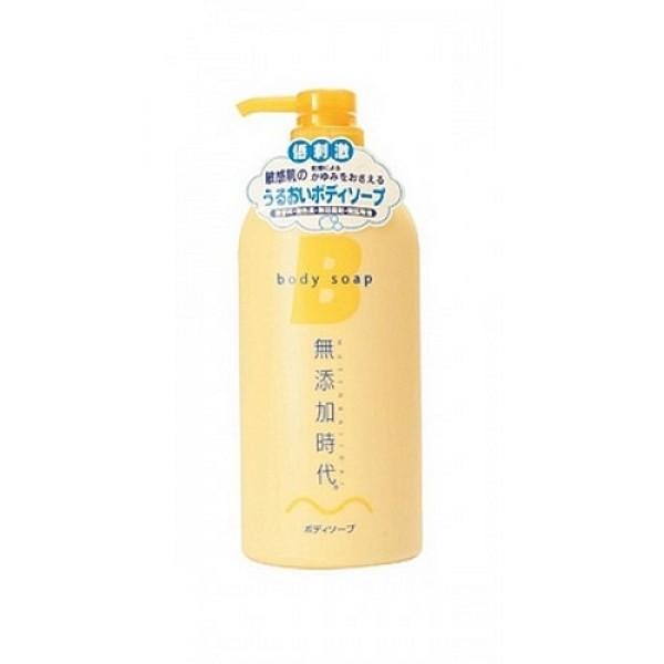 жидкое мыло для тела без добавок real mutenka jidai body soapMutenka Jidai Body Soap. Жидкое мыло для тела без добавок не содержит парфюмерных отдушек, красителей, минеральных масел, консервантов класса парабенов.<br>Образует мягкую воздушную пену. Увлажняет, удивительно нежно и мягко очищает, не оказывая раздражающего воздействия на кожу. Мягко воздействует на кожу, в составе - натуральные растительные моющие компоненты (кокосовая пальма, хмель).<br><br>В составе - натуральные растительные увлажняющие компоненты/экстракты (экстракт лакричника, экстракт листьев персикового дерева, горький апельсин/померанец/). Поддерживает оптимальный уровень увлажнённости кожи, смягчает кожу, уменьшая стянутость, зуд, и раздражение сухой кожи.<br><br>Обладает освежающим ароматом цитрусовых фруктов.<br><br>Способ применения: выдавить средство на влажные мочалку или губку, вспенить, нанести на тело, хорошо смыть тёплой водой.<br><br>Меры предосторожности: не используйте средство, если оно вызывает покраснение, раздражение, зуд или воспаление кожи и проконсультируйтесь с врачом-дерматологом. Избегайте попадания в глаза, при попадании сразу же промойте глаза водой. Храните в недоступных для детей местах.<br><br>Состав: вода, калийная мыльная основа, глицерин, кокамид DEA, кокоанфоацетат натрия, бетаин, экстракт хмеля, экстракт листьев персикового дерева, глицирретинат дикалия, экстракт гамамелиса, экстракт цветов гардении, масло горького апельсина, гидроксипропилметилцеллюлоза, дистеаратгликоль, BG, HEDTA-3Na.<br><br>580 ml<br>