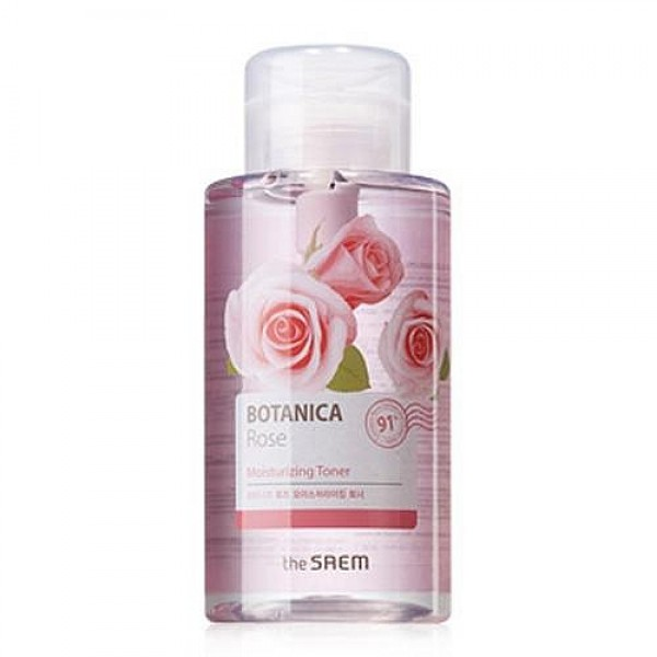 тоник для лица the saem botanica rose moisturizing toner