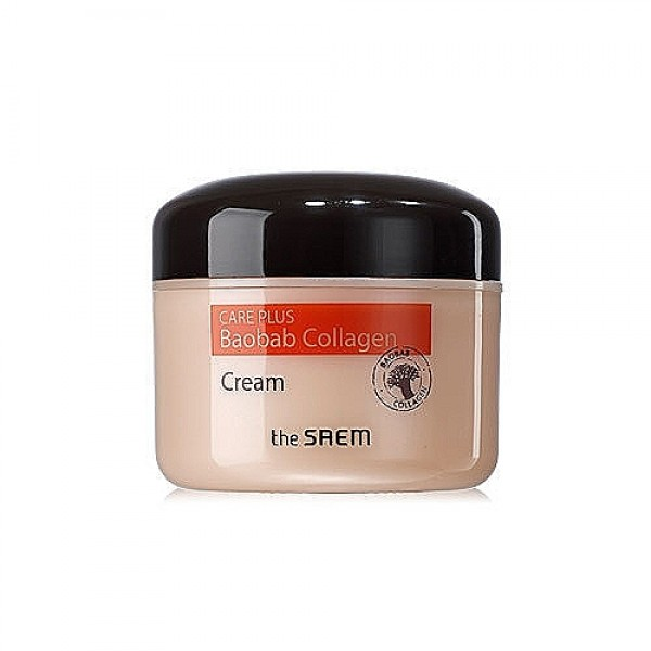 крем коллагеновый баобаб  the saem care plus baobab collagen cream