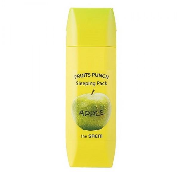 маска ночная яблочный пунш the saem fruits punch apple sleeping packFruits Punch Apple Sleeping Pack. Маска ночная яблочный пунш<br><br>Вкусный десерт для Вашей кожи! Это потрясающая маска преобразит Вашу кожу и подарит удовольствие при нанесении!<br><br>&amp;nbsp;<br><br>Ночная яблочная маска от корейского производителя The Saem - кладезь витаминов и ценных микроэлементов для восстановления кожи во время сна. Маска удобна в применении, легко наносится и работает на все 100%, пока вы спите! За ночь все копоненты маски успевают раскрыться в полном объеме, чтобы с утра Ваше лицо выглядело сияющим и отдохнувшим!<br><br>&amp;nbsp;<br><br>Яблочная маска обладает увлажняющим и укрепляющим действием, способствует поддержанию оптимального водного баланса кожи, улучшает рельеф кожи, оздоравливает, дарит здоровый цвет лица, придает лицу нежность и бархатистость.<br><br>&amp;nbsp;<br><br>Активные компоненты маски:<br><br><br>экстракт яблока - придает лицу свежесть и здоровый вид, дарит сияние, омолаживает, витаминизирует<br><br>бетаин - укрепляет кожу, улучшает овал лица, придает эластичность<br><br>гиалуроновая кислота - естественный увлажнитель кожи, оптимизирует уровень влаги в клетках<br><br>натуральные масла - питают и укрепляют кожу<br><br>медовая вытяжка - снимает раздражения, заживляет ранки, устраняет покраснения, дарит здоровый цвет лица<br><br>Утром вы проснетесь преображенной и отдохнувшей! Кожа порадует Вас свежим видом, молодостью и красотой!<br><br><br>&amp;nbsp;<br><br>Способ применение: очистить вечером лицо и незадолго до сна нанести маску на кожу. Утром умыться теплой водой. Рекомендуется применять 2-3 раз в течение недели.<br>