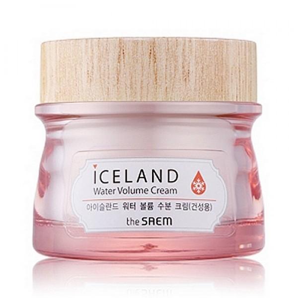 крем минеральный для сухой кожи the saem iceland water volume hydrating cream for dry skinIceland Water Volume Hydrating Cream For Dry Skin. Крем минеральный для сухой кожи<br><br>В основе всех средств этой линии ледниковая минеральная вода из Исландии, а также экстракты исландского моха, морских водорослей и арктических ягод.<br><br>&amp;nbsp;<br><br>Вода Исландии считается одной из самых чистых на нашей планете. Исландская вода тающих ледников и снежного покрова, добываемая из вулканических недр артезианского источника, проходит естественную фильтрацию. Кроме того, эта вода, насыщенная кислородом, даже после размораживания не теряет своих полезных свойств.<br><br>&amp;nbsp;<br><br>Для изготовления крема использована технология Hyaluronic Filling Spheres. Активные компоненты насыщены гиалуроновой кислотой, и, попадая на кожу, эффективно разглаживают верхний слой эпидермиса, а затем проникают в самые глубокие его слои и начинают свое благотворное воздействие.<br><br>&amp;nbsp;<br><br>Исландский мох – удивительный и уникальный компонент, симбиоз грибов и водорослей, содержит витамины и микроэлементы. Исландский мох является природным антибиотиком, обладает мощной антимикробной активностью, оказывает антисептическое, общеукрепляющее и ранозаживляющее действие.<br><br>&amp;nbsp;<br><br>Морские водоросли – источник полисахаридов, аминокислот, витаминов и минеральных веществ. Морские водоросли увлажняют и питают кожу, успокаивают её, снимают раздражения и уменьшают покраснения. Кроме того, экстракт морских водорослей обладает высокими антиоксидантными свойствами, способствует обновлению клеток кожи, выводит токсины, уменьшает отечность.<br><br>&amp;nbsp;<br><br>Ягоды, подвергшиеся во льдах Исландии естественной заморозке, обладают мощной жизненной силой, которую они и передают нашей коже, а также насыщают её витаминами и тонизируют.<br><br>&amp;nbsp;<br><br>Регулярное применение крема, особенно в комплексе с другими средствами увлажняющей линии, напитает вашу кожу влагой