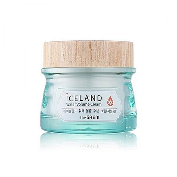 крем минеральный для жирной кожиIceland Water Volume Hydrating Cream For Oily Skin. Крем минеральный для жирной кожи увлажняющий с ледниковой водой Исландии<br><br>Крем из увлажняющей серии по уходу за кожей The Saem Iceland Water Volume. В основе всех средств этой линии ледниковая минеральная вода из Исландии, а также экстракты исландского моха, морских водорослей и арктических ягод.<br><br>&amp;nbsp;<br><br>Вода Исландии считается одной из самых чистых на нашей планете. Исландская вода тающих ледников и снежного покрова, добываемая из вулканических недр артезианского источника, проходит естественную фильтрацию. Кроме того, эта вода, насыщенная кислородом, даже после размораживания не теряет своих полезных свойств.<br><br>&amp;nbsp;<br><br>Для изготовления THE SAEM Iceland Hydrating Water Volume Cream использована технология Hyaluronic Filling Spheres. Активные компоненты насыщены гиалуроновой кислотой, и, попадая на кожу, эффективно разглаживают верхний слой эпидермиса, а затем проникают в самые глубокие его слои и начинают свое благотворное воздействие.<br><br>&amp;nbsp;<br><br>Исландский мох – удивительный и уникальный компонент, симбиоз грибов и водорослей, содержит витамины и микроэлементы. Исландский мох является природным антибиотиком, обладает мощной антимикробной активностью, оказывает антисептическое, общеукрепляющее и ранозаживляющее действие.<br><br>&amp;nbsp;<br><br>Морские водоросли – источник полисахаридов, аминокислот, витаминов и минеральных веществ. Морские водоросли увлажняют и питают кожу, успокаивают её, снимают раздражения и уменьшают покраснения. Кроме того, экстракт морских водорослей обладает высокими антиоксидантными свойствами, способствует обновлению клеток кожи, выводит токсины, уменьшает отечность.<br><br>&amp;nbsp;<br><br>Ягоды, подвергшиеся во льдах Исландии естественной заморозке, обладают мощной жизненной силой, которую они и передают нашей коже, а также насыщают её витаминами и тонизируют.<br><br>&amp;nbsp;<br><br>Крем с легкой, н