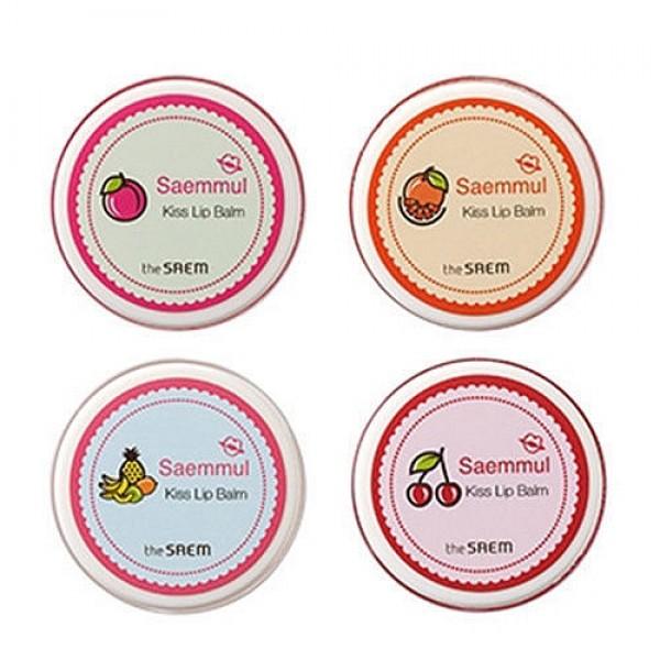 бальзам для губSaemmul Kiss Lip Balm. Бальзам для губ<br><br>Мягкое сияние, естественные чистые оттенки – губы будут выглядеть маняще и притягательно. Бальзам от The Saem с увлажняющими и питательными компонентами не только дарит губам красивый цвет, но и ухаживает за кожей.<br><br>&amp;nbsp;<br><br>В составе бальзама масла ши, манго, какао и авокадо, которые великолепно питают и смягчают кожу губ, разглаживают ее и увлажняют, устраняют шелушения и микротрещины. Экстракты мёда и ацеролы увлажняют и освежают кожу, оказывают антиоксидантную защиту.<br><br>&amp;nbsp;<br><br>Благодаря бальзаму Saemmul Kiss Lip Balm губы будут яркими и манящими, а кожа гую мягкой, шелковистой.<br><br>&amp;nbsp;<br><br>Выпускается в нескольких оттенках:<br><br><br>01 Rose Balm<br><br>02 Angel Balm<br><br>03 Jolie Balm<br><br>04 Tint Balm<br><br><br>&amp;nbsp;<br><br>Способ применения: Нанести бальзам на сухую, чистую кожу губ.<br><br>&amp;nbsp;<br><br>Объём: 7 гр.<br><br>Вес г: 7.00000000