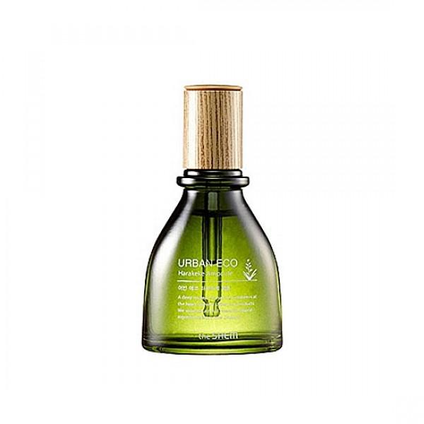 сыворотка с экстрактом новозеландского льна the saem urban eco harakeke ampouleUrban Eco Harakeke Ampoule. Сыворотка с экстрактом новозеландского льна.<br><br>Ампульная сыворотка содержит экстракт Новозеландского льна (92%), другое название растения Harakeke, экстракт семян льна ( 500 мг), экстракт меда Манука, экстракт календулы и т.д.<br><br>Обладает успокаивающим кожу эффектом, обладает смягчающим свойством и укрепляет структуру кожи. Не оставляет липкого ощущения, очищает кожу от мертвых клеток и загрязнений.<br><br>Способствует более глубокому проникновению других средств серии. Имеет легкий естественный свежий аромат.<br><br>Не содержит парабенов, искусственных красителей, минеральных масел, продуктов животного происхождения, бензофенона, спирта.<br><br>Способ применения: Небольшое количество сыворотки (1-2 капли) нанесите на кожу, распределите. Особое внимание уделите проблемным участкам кожи.<br>