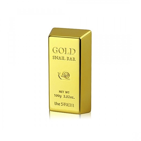 мыло для умывания с экстрактом золота the saem gold snail barGold Snail Bar. Мыло для умывания с экстрактом золота, муцина улитки, оливы - эксклюзивного вида мыло, предназначенное для тщательного умывания с экстрактом золота, оливы и редкостного муцина улитки. Данное мыло превосходно убирает с кожного покрова любой вид загрязнений, не говоря уже про глубокое питание и активную клеточную регенерацию.<br><br>Уникальная формула препарата оказывает отличное бактерицидное действие, полноценно сохраняет влагу и насыщает эпителий активными растительными экстрактами. Улучшается тонус при тусклом и заметно уставшем кожном покрове, обесцвечивается постакне.<br><br>Применение:<br>После интенсивного намокания мыла, взбить легкую пену и нанести на эпидермис. Лицо нежно помассировать пару минут, затем старательно смыть остаток.<br><br>Вес г: 100.00000000