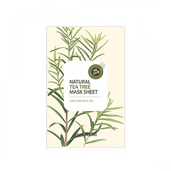 маска тканевая с экстрактом чайного дерева the saem natural tea tree mask sheetNatural Tea Tree Mask Sheet.&amp;nbsp;Маска тканевая с экстрактом чайного дерева.&amp;nbsp;Экстракт чайного дерева из Австралии, являясь результативным антисептическим и противовоспалительным средством широкого спектра действия, успокаивает и освежает кожу, придает бодрость и тонизирует. Препятствует образованию угревой сыпи и возвращает коже ровный тон, особенно эффективен для проблемной кожи. Маска содержит минеральную воду, насыщающую кожу микроэлементами и солями, которая становится увлажненной и гладкой. Гипоаллергенна.<br><br>Применение: приложите маску к очищенной коже, плотно прижмите коже и оставьте на 20-25 минут. После распределите остатки жидкости по коже лица и шее.мализует водно-солевой баланс кожи.<br><br>Дата изготовления &amp;nbsp;(срок годности) указана на &amp;nbsp;упаковке<br>