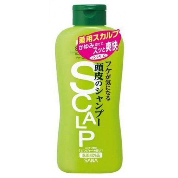 шампунь от перхоти sana scalp dandruff shampooScalp Dandruff Shampoo. Шампунь от перхоти превосходно очищает кожу головы, убирает излишки жира, защищает от перхоти, поддерживают красоту и здоровье волос. <br><br>Содержит освежающий ментол, экстракт морских водорослей, D-пантотеновый спирт, экстракт мыльнянки, компонент пироктоноламин, который уничтожает микроорганизмы, вызывающие перхоть. <br><br><br>Мыльнянка - природное очищающее средство, богатое сапонинами. Обладает противовоспалительным и нормализующим действием на сальные железы. <br><br>Морские водоросли оказывают лечебно-профилактическое действие на кожу, восстановливают минеральный баланс, содержат полисахариды, витамины А, D, В2, Е, минеральные элементы кальций и магний, микроэлементы йода, брома, фосфора, цинка, железа, серы, цинка, хлорофилл, жирные кислоты, регулируют работу сальных желез. <br><br>Салициловая кислота отшелушивает и глубоко очищает кожу. Обладает ароматом свежей мяты.<br><br><br><br>Применение: Нанесите шампунь на влажные волосы, вспеньте, слегка помассируйте, хорошо смойте водой.<br><br>Состав: салициловая кислота, дикалий глицинорициновой кислоты, вода, натрий полиоксиэтиленлаурилэфир, амидопропилбетаин жирной кислоты кокосового масла, густой глицерин, D-пантотеновый спирт, экстракт морских водорослей (4), экстракт мыльнянки, BG, l-ментол, ЭДТА, моноэтаноламид жирной кислоты кокосового масла, гидроксиэтилцеллюлоза хлорид О (2-гидрокси 3-(триметиламмоний) пропил, хлорид натрия, бензоат натрия, отдушка, парабены<br><br>250 мл.<br>