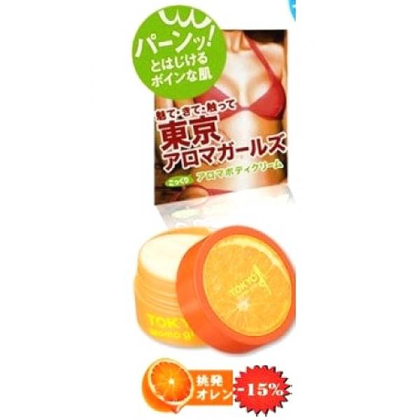 крем для тела с ароматом апельсина sana tokyo aroma girls cream orangeTokyo Aroma Girls Cream Orange. Крем для тела с ароматом апельсина содержит масло какао - самое лучшее натуральное увлажняющее средство, которое применяется благодаря своим замечательным смягчающим и увлажняющим свойствам и способности усиливать действие других компонентов, а также:<br><br><br>увлажняет, смягчает кожу;<br><br>способствует исчезновению небольших косметических дефектов;<br><br>защищает кожу от обветривания в зимнее время;<br><br>подтягивает кожу тела и придает ей упругий, здоровый вид.<br><br><br><br>Мед в составе крема хорошо увлажняет и смягчает кожу, устраняет сухость и шелушение, повышает тонус кожи. Токоферол (витамин Е) обладает мощным антиоксидантным действием, нейтрализуя свободные радикалы и защищая клетки кожи от разрушения. Крем отлично подходит для кожи любого типа. <br><br>Обладает ароматом апельсина.<br><br>Способ применения: после принятия ванны или при пересыхании нанесите крем на чистую кожу.<br><br>Меры предосторожности: не использовать при появлении покраснений, зуда, раздражения кожи. В случае возникновения аллергических реакций, прекратите использование средства и проконсультируйтесь с дерматологом.<br><br>Состав: вода, масло какао, циклометикон, минеральное масло, глицерин, глицерил стеариновая кислота, SE, бехениловый спирт, BG, стеариловый спирт, цетанол, мед, токоферол, этанол, карамель, кальбомер, ПЕГ-25 стеариновой кислоты, стеароил-глутамат натрия, желтый 4, гидроокись калия, феноксиэтанол, отдушка, метилпарабен.<br><br>50 г.<br><br>Вес г: 50.00000000