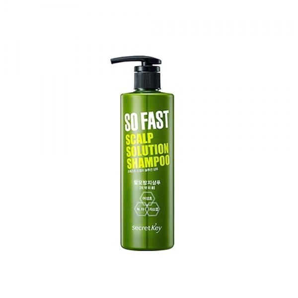 шампунь укрепляющий с экстрактом зеленого чая secret key so fast scalp solution shampooSo Fast Scalp Solution Shampoo. Шампунь укрепляющий с экстрактом зеленого чая<br><br>Пополнение популярной и эффективной серии шампуней от Secret Key – укрепляющий шампунь с экстрактом зеленого чая.<br><br>&amp;nbsp;<br><br>Шампунь великолепно очищает кожу головы и волосы от различных загрязнений: пыли, кожного жира, отмерших клеток. Благодаря эффективному очищению кожа головы, а также корни волос получают полноценное питание.<br><br>&amp;nbsp;<br><br>Экстракт зеленого чая в составе шампуня оказывает выраженное антисептическое и антибактериальное действие, успокаивает и заживляет поврежденную кожу головы, нормализует обменные процессы в тканях, устраняет излишнюю жирность кожи.<br><br>&amp;nbsp;<br><br>Шампунь с зеленым чаем оздоравливает волосы от корней до кончиков, улучшает структуру волос, благодаря чему уменьшается выпадение волос, они обретают силу и ухоженность, становятся блестящими и шелковистыми.<br><br>&amp;nbsp;<br><br>Способ применения: Нанести на влажные волосы и кожу головы, помассировать и смыть водой. При необходимости повторить.<br><br>&amp;nbsp;<br><br>Объём: 500 мл<br>