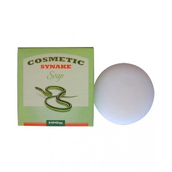 """косметическое мыло с пептидами """"syn-ake"""" seil trade cosmetic synake soapCosmetic Synake Soap. Косметическое мыло для умывания с пептидами """"SYN-AKE"""" нежно очищает кожу, мягко отшелушивает омертвевшие клетки эпидермиса. В состав мыла входит уникальный косметический компонент – пептид SYN-AKE. Действуя аналогично змеиному яду, пептид блокирует сокращения мышц и расслабляет мимическую мускулатуру, благодаря чему морщины разглаживаются и&amp;nbsp; предотвращается образование новых. &amp;nbsp;<br>&amp;nbsp;<br>Активные компоненты:<br><br><br>&amp;nbsp;&amp;nbsp;&amp;nbsp; Экстракт лилии оказывает расслабляющее действие, способствует уменьшению морщин. Оказывает антисептическое&amp;nbsp; действие.<br><br>&amp;nbsp;&amp;nbsp;&amp;nbsp; Экстракт хризантемы&amp;nbsp; увлажняет и тонизирует кожу, улучшает микроциркуляцию крови, выравнивает и разглаживает кожу, обновляет и обогащает её питательными веществами, жизненно необходимыми для здоровья кожи. Обладает выраженным омолаживающим действием. Успокаивает раздраженную и воспаленную кожу, способствует регенерации кожи, стимулирует синтез коллагена.<br><br>&amp;nbsp;&amp;nbsp;&amp;nbsp; Экстракт яблока тонизирует, восстанавливает упругость и эластичность кожи. &amp;nbsp;<br><br><br><br>&amp;nbsp;<br>Регулярное умывание мылом с пептидом SYN-AKE способствует&amp;nbsp; улучшению состояния кожи. &amp;nbsp;<br>&amp;nbsp;<br>Способ применения:&amp;nbsp; смочите мыло теплой водой и взбейте обильную пену, затем&amp;nbsp; нанесите на влажную кожу лица массажными движениями. Смойте теплой водой. &amp;nbsp;<br>&amp;nbsp;<br>Состав: вода, пальмитиновая кислота, олеиновая кислота, лауриновая кислота, линолевая кислота, миристиновая кислота, стеариновая кислота, пептид """"SYN-AKE"""", экстракт листьев сосны, экстракт розы, экстракт лилии, отдушка, экстракт йогурта, экстракт банана, экстракт цветков хризантемы, лавандовая вода, экстракт яблока, аденозин,&amp;nbsp; диоксид титана, экстракт листьев артемизии, экстракт опунции.&amp;nbsp;&amp;nbsp;&amp"""