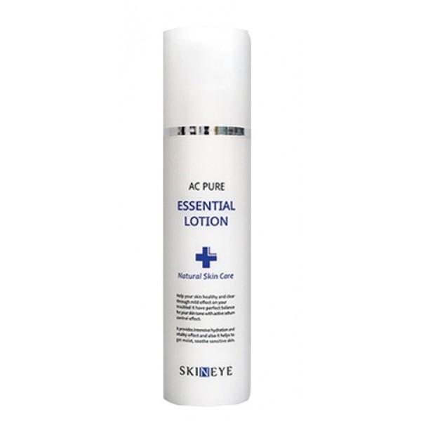 лосьонAc Pure Essential Lotion. Лосьон<br><br>Лосьон является завершающим этапом ухода за проблемной кожей лица. Лосьон оказывает выраженное антисептическое и противовоспалительное действие, нормализует выработку кожного сала и матирует кожу. Лосьон не только смягчает кожу, но и интенсивно ее увлажняет. <br><br>Активный комплекс из семи успокаивающих растительных компонентов ухаживает за кожей.<br><br><br>Экстракты чайного дерева, портулака огородного и корня солодки оказывают сильное противовоспалительное и антибактериальное действие, успокаивают раздраженную кожу, ускоряют процесс регенерации.<br><br>Экстракты алоэ вера, центеллы азиатской и ромашки снимают покраснения и уменьшают раздражения, улучшая защитные свойства кожи.<br><br><br>Не содержит: парабены, искусственные отдушки, искусственные красители, компоненты животного происхождения, минеральное масло, бензофенон, бутилгидрокситолуол, триэтаноламин<br><br>Применение: Используйте утром и вечером на завершающем этапе ухода за кожей. Массирующими движениями нанесите средство на кожу лица и шеи.<br><br>Состав: Water, Glycerin, Dimethicone, Butylene glycol, Alcohol, Hydrogenated Polyisobutene, Cyclopentasiloxane, Dimethicone/Vinyl Dimethicone Crosspolymer, Sorbitan Stearate, PEG-100 Stearate, Beta-Glucan, Glyceryl Stearate, Ethyl Hexanediol, Cyclohexasiloxane, Tromethamine, Carbomer, Siilica, Glyceryl Caprylate, Allnatoin, Lavandula Angustifolia (Lavender) Oil, Disodium EDTA, Portulaca Olearacea Extract, Aloe Barbadensis Leaf Juice, Melaleuca Alternifolia (Tea Tree) Leaf Water, Glycyrrhiza Glabra (Licorice) Root Extract, Centella Asiatica Extract, Glycine Max (soybean) Seed Extract, Anthemis Nobilis Flower Extract<br><br>Меры предосторожности:&amp;nbsp;Только для наружного применения. Избегать попадания в глаза. При попадании в глаза немедленно промыть водой. Не наносить на поврежденные участки кожи. При появлении раздражения прекратить использование.<br><br>Срок годности: 2,5 года<br><br>Объем: 150 мл<br>