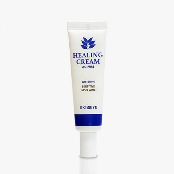 восстанавливающий кремAc Pure Healing Cream. Восстанавливающий крем<br><br>Крем предназначен для ухода за проблемной кожей с частыми воспалениями, пятнами постакне и пигментацией. Крем успокаивает кожу, способствует регенерации после воспалительных процессов, осветляет пигментные пятна и постакне. Содержит растительные экстракты (корня репейника, портулака, корня солодки, пиона, сок алоэ) успокаивающие и смягчающие проблемную кожу. Бисаболол оказывает противовоспалительное действие, увлажняет, ускоряет заживление повреждений. Крем обладает легкой консистенцией и быстро впитывается.<br><br>Применение:&amp;nbsp;Небольшое количество крема наносить точечно на проблемные участки кожи.<br><br>Меры предосторожности:&amp;nbsp;Избегайте попадания в глаза. При попадании в глаза немедленно промойте водой. При появлении следующих реакций прекратите использование: раздражение, сыпь, покраснение, зуд<br><br>Состав:&amp;nbsp;Water, Glycerin, Butylene Glycol, Cyclopentasiloxane, Hydrogenated Poly (C6-14 Olffin), Cetearyl Alcohol, Dimethicone, Cetearyl Olivate, Sorbitan Olivate, Sodium Polyacrylate, Glyceryl Stearate, PEG-100 Stearate, 1,2 Hexanediol, Arctium Lappa Root Extract, Bisabolol, Phellinus Linteus Extract, Phenoxyethanol, Pentaerythrityl Distearate, Polysorbate 60, Hydrogenated Lecithin, Piper Methystium Leaf/Root/Stem Extract, Portulaca Oleracea Extract, Pueraria Thunbergiana Root Extract, Chidium Officinale Root Extract, Glycyrrhiza Glabra (Licorice) Root Extract, Paeonia Lactiflora Root Extract, Soluble Collagen, Betaine, Fragrance, Toopherol Acetate, Aloe Barbadensis Leaf Juice, Neopentyl Glycol Diheptanoate, Tocopheryl Linoleate, Ehtylhexylglycerin, Sucrose Distearate, Adenosine, Disodium EDTA, Ceramide 3, Sodium Hyaluronate, Xantham Gum, Folic Acid, Chelsterol, Raffinose, Tromethamine, Palmotoyl Pentapeptide-4 Panthenol<br><br>Срок годности:&amp;nbsp;2,5 года<br><br>Объем:&amp;nbsp;20 мл<br>