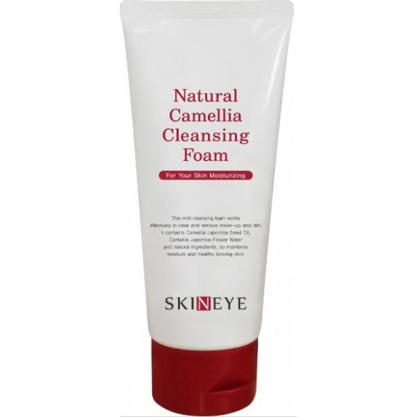очищающая пенкаNatural Camellia Cleansing Foam. Очищающая пенка<br><br>Средства серии Natural Camellia содержат масло камелии и экстракт камелии. Экстракт камелии является сильным антиоксидантом, так как содержит витамины А, С, Е и В. Он защищает кожу от агрессивного воздействие внешней среды и замедляет процесс старения кожи. Масло камелии, богатое жирными кислотами, протеинами, минералами и витаминами, интенсивно питает, смягчает и защищает кожу. Также в составе всех средств содержатся успокаивающие кожу органические растительные компоненты, получившие сертификат Ecocert (экстракты березовых почек, листьев березы, центеллы азиатской, зеленого чая, мелиссы, ромашки и розовая вода).<br><br>Пенка идеально очищает кожу от макияжа &amp;nbsp;и других загрязнений, действуя мягко, но эффективно.&amp;nbsp; Тщательно подобранный комплекс растительных компонентов (экстракты алоэ, портулака и розы) насыщает кожу витаминами и минералами и улучшает цвет лица.<br><br>Применение:&amp;nbsp;выдавите необходимое количество пенки на ладонь, добавьте немного воды, взбейте пену. Нанесите на влажную кожу лица массирующими движениями, тщательно смойте водой.&amp;nbsp;&amp;nbsp;<br><br>Меры предосторожности:<br><br>Только для наружного применения. Избегать попадания в глаза. При попадании в глаза немедленно промыть водой. Не наносить на поврежденные участки кожи. При появлении раздражения прекратить использование.<br><br>Состав:&amp;nbsp;Aloe Barbadensis Leaf Juice, Stearic Acid, Camellia Japonica Flower, Glycerin, Myristic Acid, Potassium Hydroxide, Lauric Acid, cocamide DEA, Sodium Lauroyl Glutamate, Polyquaternium-7, Glyceryl Stearate, PEG-100 Stearate, Camellia Japonica Seed Oil, Cetearyl Alcohol, Butylene Glycol, 1,2 Hexanediol, Caprylyl glycol, Illicum Verum (anise) Fruit Extract, Disodium EDTA, Pelargonium Graveolens Flower Oil, Cymbopogon Martini Oil, citrus aurantium Bergamia (Bergamot) Peel Oil, Rosa Damascena Flower Oil, allantoin, Betaine, Portulaca Olearacea Extract, Morus al