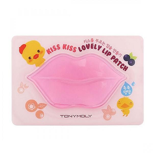 патчи для губ увлажняющие tony moly kiss kiss lovely lip patchKISS KISS LOVELY LIP PATCH. Патчи для губ увлажняющие -&amp;nbsp;сочная, ароматная и очень полезная ягодная гидрогелевая маска для губ. Экстракты клубники, черники, шиповника и голубики увлажняют и питают нежную кожу губ.<br><br>Благодаря маске разглаживаются мелкие складочки на коже, кожа становится эластичной и мягкой. Антиоксидантные свойства ягодных экстрактов позволяют продлить молодость и красоту.<br><br>Активные компоненты маски заживляют микротрещины и защищают кожу губ от пересыхания, устраняют шелушения и сухость.<br><br>Гидрогелевая формула маски быстро и глубоко проникает в клетки кожи. Имеет приятный аромат клубники.<br><br>Способ применения: наложить маску на чистую кожу губ на 10-20 минут, затем убрать маску, а остатки сыворотки легонько вбить в кожу подушечками пальцев. Также до применения маски можно использовать специальный скраб для губ.<br><br>Вес г: 10.00000000