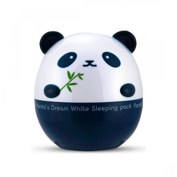 маска ночная осветляющая tony moly pandas dream white sleeping packPandas Dream White Sleeping pack.&amp;nbsp;Маска ночная осветляющая, отбеливающая и увлажняющая кожу. Питает кожу, восстанавливая ее структуру, делая гладкой и шелковистой. Подходит для любого типа кожи, в том числе для сухой, обезвоженной или проблемной. Содержит экстракты лаванды, розмарина и бамбука, восстанавливающие упругость кожи и обладающие противовоспалительным эффектом. Экстракты черники, малины и ежевики витаминизируют кожу и защищают от вредного воздействия окружающей среды.<br><br>Средство не содержит парабенов, бензофенона, минеральных масел, триэтаноламина и искусственных красителей.<br><br>&amp;nbsp;<br><br>Использование: перед сном, на очищенную кожу лица нанесите свой обычный тоник, чтобы подготовить кожу к лучшему восприятию маски. Нанесите необходимое количество маски и распределите ее по всему лицу. Мягко помассируйте лицо кончиками пальцев, чтобы активировать маску. После того, как она немного впитается, ложитесь спать. На утро, умойтесь теплой водой и продолжите свой привычный уход.<br>