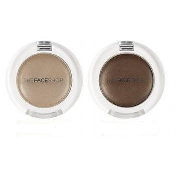 моно-тени для век кремовые the face shop n.tfs.e single shadow creamN.TFS.E Single Shadow Cream. Моно-тени для век кремовые<br><br>Нежные, кремовые текстуры и сочные оттенки для эффектного макияжа глаз. Кремовые тени очень легко наносятся и растушевываются, именно поэтому многие женщины выбирают такие средства для ежедневного макияжа.<br><br>Невесомая, воздушная формула легко наносится и растушевывается, что дает возможность создавать мягкие переходы между оттенками.<br><br>Насыщенный стойкий цвет. Кремовая текстура позволяет варьировать плотность нанесения - от полупрозрачной до насыщенной. Не смазываются и не скатываются в течение дня.<br><br>Оттенки:<br><br><br>BE01<br><br>BR01<br><br><br>Способ применения: Используя кисть, нанесите тени на век<br><br>Вес: 1.8 г<br><br>Вес г: 1.80000000