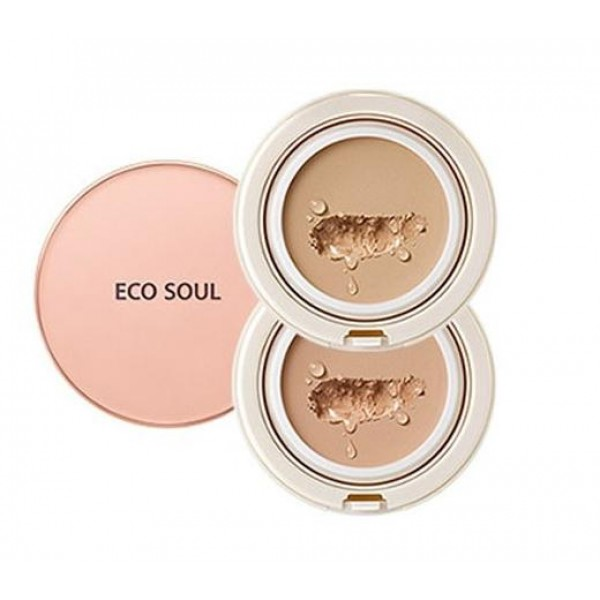 бб крем the saem eco soul spau bb cake spf50+ pa+++