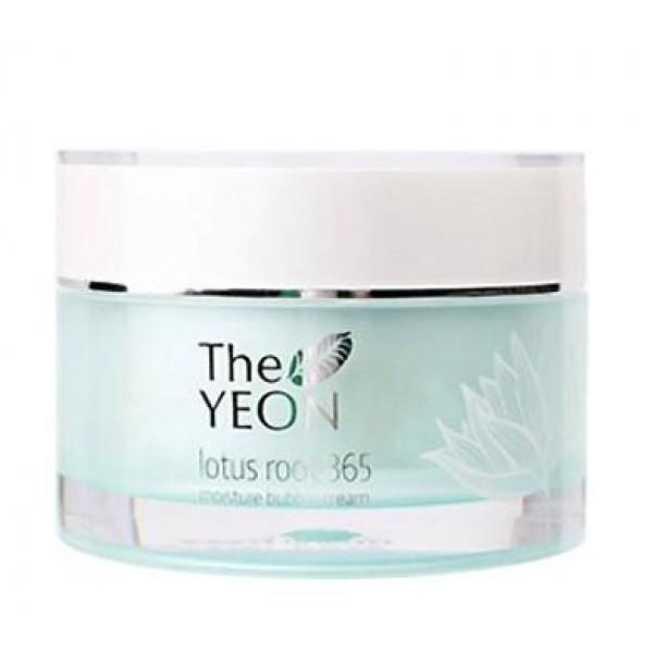 крем для лица увлажняющий the yeon lotus roots 365 moisture bubble creamLotus Roots 365 Moisture Bubble Cream. Крем для лица увлажняющий<br><br>Легкий крем с гелеобразной воздушной текстурой обеспечивает интенсивное увлажнение и способствует сохранению влаги, предупреждая обезвоживание кожи. Также крем помогает справиться с неровным тоном и пигментацией, делает менее выраженными морщины. Крем гипоаллергенный, подходит даже для самой чувствительной кожи.<br><br>В составе крема 30% экстракта корня лотоса, который обладает мощными увлажняющими и смягчающими свойствами, улучшает микроциркуляцию крови, стимулирует активность клеток, благодаря чему кожа восстанавливается и омолаживается. Экстракт лотоса эффективно успокаивает и освежает кожу, снимает воспаление и успокаивает зуд, выравнивает и осветляет тон кожи.<br><br>Также крем содержит масло ши (интенсивное питание), гиалуроновую кислоту (глубокое увлажнение), ниацинамид (осветление пигментации) и аденозин (разглаживание морщин), благодаря которым кожа становится мягкой, гладкой, упругой и шелковистой, лицо обретает свежесть и сияние.<br><br>Способ применения: Нанести крем завершающим этапом ухода, после нанесения на несколько секунд прижать ладони к лицу, чтобы их тепло помогло активным компонентам крема еще глубже проникнуть в кожу.<br><br>Объём: 50 мл<br>