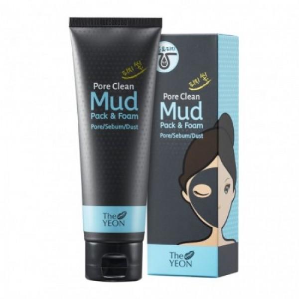 маска-пенка для лица на основе каолиновой глины the yeon pore clean mud pack &amp; foamPore Clean Mud Pack &amp;amp; Foam. Маска-пенка для лица на основе каолиновой глины<br><br>Богатая минералами каолиновая глина, полученная из бассейна Амазонки очищает кожу от загрязнений и вымывает забитые поры, выравнивает тон кожи и снимает воспаления. Содержит пудру древесного угля, экстракт зеленого чая и шалфея.<br><br>Освежает и успокаивает кожу.<br><br>Экстракт зеленого чая и экстракт листьев шалфея способствуют осветлению и гладкости кожи.<br><br>Способ применения:<br><br>При использовании в качестве маски:<br><br><br>1. После использования тонера, нанесите ровный слой на все лицо, избегая области вокруг глаз и рта.<br><br>2. Через 5-10 минут, смыть полностью теплой водой.<br><br><br>Совет: Сосредоточьте внимание на области Т-зоны, это поможет в управлении избытком кожного сала и загрязнений.<br><br>При использовании в качестве пенки для умывания:<br><br><br>1. Возьмите небольшое количество и вспеньте<br><br>2. Нанесите на лицо массажными движениями, смойте теплой водой.<br><br><br>Совет: Использование щеточки поможет добиться лучших результатов.<br><br>Объем: 120мл.<br><br><br><br>&amp;nbsp;<br>