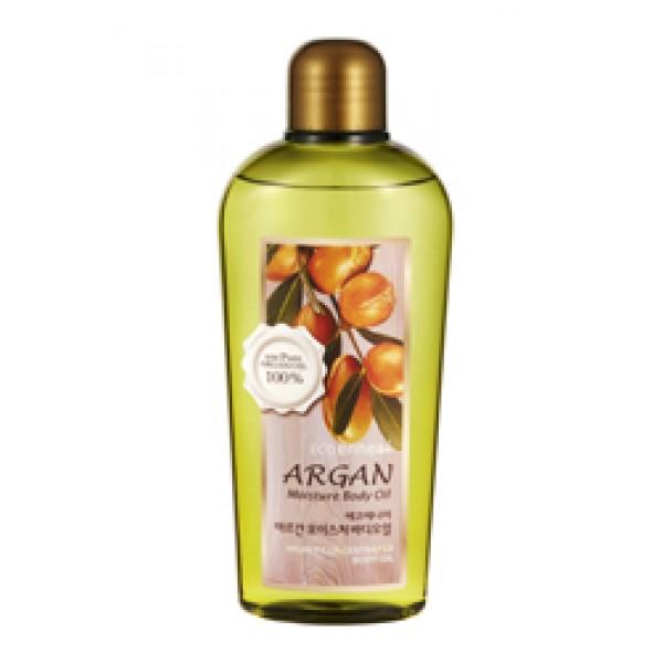 увлажняющее аргановое масло для тела welcos ecoennea argan масло для тела