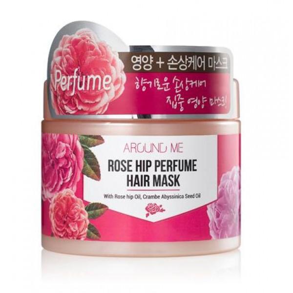 маска для поврежденных волос welcos around me rose hip perfume hair maskAround me Rose Hip Perfume Hair Mask. Маска для поврежденных волос<br><br>Содержит экстракт плодов шиповника и абиссинское масло.<br><br>Комплекс натуральных масел интенсивно питает и увлажняет волосы, делает их более сильными и здоровыми, восстанавливает и укрепляет волосы изнутри, делает их более послушными и гладкими.<br><br>Способ применения: Равномерно нанести на влажные волосы после мытья и полоскания, держать в течение 5-15 минут .<br><br>Объем:&amp;nbsp;300 мл<br>