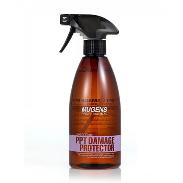 спрей для поврежденных волос welcos mugens ppt damage protectorMugens Ppt Damage Protector. Спрей для поврежденных волос<br><br>Интенсивное экспресс-средство для ухода за волосами. Не нужно тратить время на распределение средства, ждать полчаса, нагревать или укутывать волосы – достаточно всего нескольких распылений, и спрей окутывает волосы невероятно полезной дымкой.<br><br>Спрей предназначен для сухих и поврежденных частыми окрашиваниями, завивками и другими воздействиями волос. Средство мгновенно увлажняет волосы, активные компоненты средства проникают вглубь волос и там запускают восстановительные процессы. Спрей обеспечивает волосам надежную защиту от потери влаги, а также от агрессивного воздействия окружающей среды, окрашивающих и укладочных средств.<br><br>При регулярном применении спрея волосы становятся более сильными, перестают выпадать и ломаться, о секущихся кончиках также можно забыть. Локоны становятся упругими, шелковистыми и блестящими.<br><br>Способ применения: Распылить средство на вымытые и подсушенные волосы, оставить на 5-10 минут, затем смыть водой.<br><br>Объем: 500 мл<br>