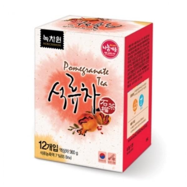 ������� �� ������� � ����� � ������� nokchawon honey pomegranata tea