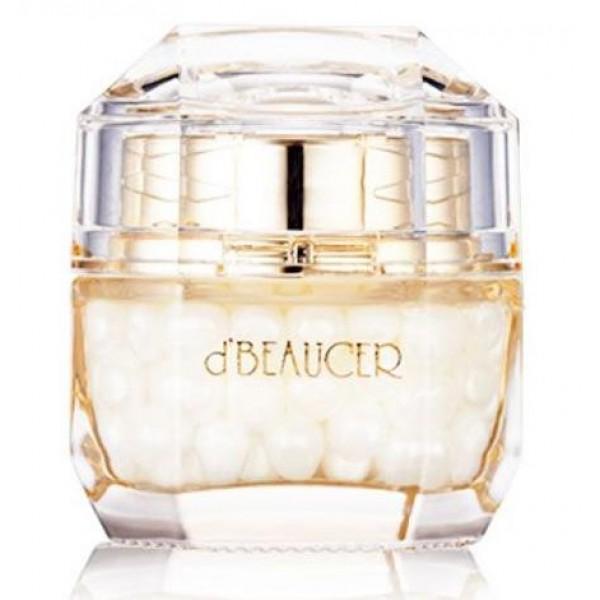 крем для лица капсульный с экстрактом жемчуга dbeaucer royal de pearl capsule creamRoyal de Pearl Capsule Cream.&amp;nbsp;Крем для лица капсульный с экстрактом жемчуга<br><br>Крем класса люкс! Роскошный дизайн, премиум качество! Крем с концентрированной формулой предназначен для продления красоты и молодости кожи. Рекомендуется для возрастной группы от 35 лет.<br><br>Элегантная баночка содержит маленькие перламутровые капсулы, в которые заключены активные компоненты крема. Капсулы сохраняют эффективность этих компонентов, а также исключают их взаимодействие с воздухом и другими веществами. Молекулы компонентов крема в капсулах меньше по размерам, чем молекулы обычных кремов и сывороток, быстро и глубоко проникают в кожу, обеспечивая стойкий и заметный результат.<br><br>Ключевой компонент крема – экстракт жемчуга, один из самых эффективных омолаживающих компонентов, благодаря составляющим жемчуга. 22 аминокислоты, микро- и макроэлементы, а также витамины и другие органические вещества в составе жемчуга увлажняют и питают, укрепляют и подтягивают, разглаживают и осветляют кожу.<br><br>Регулярное применение крема с жемчугом позволяет добиться заметных результатов – кожа лица обретает упругость и эластичность, улучшается цвет лица, кожа обретает изысканную матовость, происходит отбеливание пигментных пятен и веснушек. Также крем защищает кожу от ультрафиолета и других негативных факторов окружающей среды.<br><br>Способ применения: Специальной лопаточкой достать из банки капсулу и нанести на очищенную и тонизированную кожу лица.<br><br>Вес: 50 г<br><br>Вес г: 50.00000000