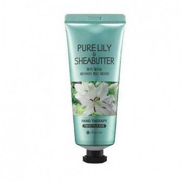 крем для рук с маслом ши и экстрактом лилии echoice purelilly&sheabutter hand therapy
