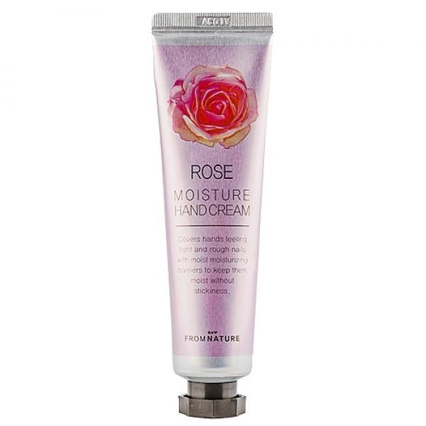 увлажняющий крем для рук с маслом розы echoice rose moisture hand cream