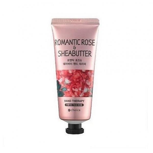 крем для рук с маслом ши и экстрактом розы echoice sweet rose&sheabutter hand therapy
