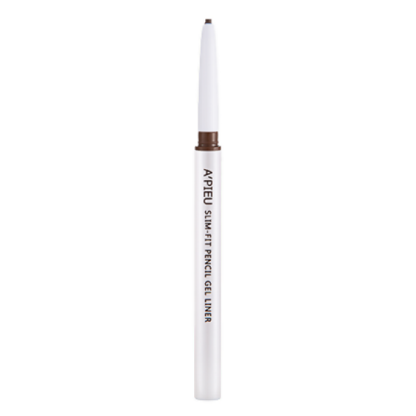 карандаш-подводка для глаз apieu slim-fit pencil gelSlim-Fit Pencil Gel. Карандаш-подводка для глаз<br><br>Он обладает стойкой формулой, легко наносится и не травмирует кожу.<br><br>Активные компоненты бережно ухаживают за ней: обеспечивают полноценное питание и глубокое увлажнение, нормализуют кровоснабжение, улучшают обменные процессы, придают мягкость и эластичность, оберегают от негативного влияния ультрафиолета.<br><br>Карандаш имеет тонкий грифель, который позволяет создавать четкие и аккуратные линии, точные штрихи.<br><br>Содержит такие природные ингредиенты, как:<br><br><br>Экстракт алоэ – насыщает кожу влагой и ценными веществами, возвращает упругость, разглаживает появившиеся морщины, снимает воспаления, заживляет повреждения и оберегает от любых воздействий.<br><br>Витамин Е – природный антиоксидант, который укрепляет кожу и препятствует ее раннему увяданию.<br><br><br>Карандаш поможет сделать глаза более выразительными, придаст взгляду особую глубину. Он обладает удобным выдвижным механизмом и не требует затачивания.<br><br>Нанесенные линии не растекаются и не размазываются в течение долгого времени.<br><br>Цвет: какао<br><br>Способ применения: Нанести карандаш вдоль линии роста ресниц.<br><br>Объем: 0.1 мл<br>