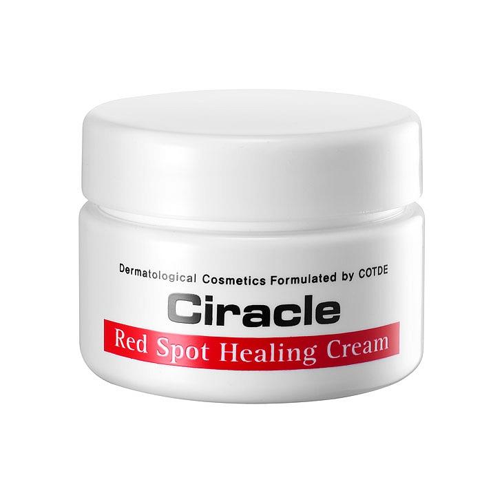 крем для проблемной кожи ciracle ciracle red spot creamCiracle Red Spot Cream. Крем для проблемной кожи лечебный.<br><br>В подростковом возрасте многие девушки и юноши сталкивается с проблемой угревой болезни (акне). Обычно, когда завершается период полового созревания, состояние кожи улучшается, и многие забывают о проблемах. Однако, у некоторых акне не проходит и в более зрелом возрасте.<br><br>&amp;nbsp;<br><br>Чтобы улучшить состояние проблемной кожи, необходимо соблюдать правильное питание, вести здоровый образ жизни, посещать косметолога и применять специальные средства лечебной косметики для проблемной кожи.<br><br>&amp;nbsp;<br><br>CIRACLE Red Spot Cream – настоящая находка для тех, кто мечтает иметь ровную и гладкую кожу без следов от прыщей и рубцов постакне. Состав крема клинически протестирован и одобрен дерматологами.<br><br>&amp;nbsp;<br><br>Крем для лечения проблемной кожи сочетает сразу несколько функций: оказывает антисептическое действие, снижает активность сальных желез, отшелушивает, глубоко увлажняет, питает и восстанавливает кожу, активизирует естественный иммунитет кожи в борьбе с патогенной микрофлорой.<br><br>&amp;nbsp;<br><br>В составе крема оксид цинка, который оказывает противовоспалительное, вяжущее, подсушивающее, антисептическое и адсорбирующее действие, предупреждает гиперкератоз и образование комедонов, а также образует защитный барьер от воздействия раздражающих факторов.<br><br>&amp;nbsp;<br><br><br>Экстракт центеллы азиатской ускоряет процессы эпителизации, способствует разглаживанию келоидных рубцов и шрамов, регенерирует клетки кожи, нормализует водно-солевой и жировой обмен. Экстракт увеличивает на 30% количество коллагена в глубоких слоях кожи, благодаря чему кожа становится более подтянутой и упругой.<br><br>Ниацинамид – способствует выравниванию тона кожи: устраняет покраснения, осветляет пигментированные участки кожи, предупреждает появление новых пигментных пятен.<br><br><br>&amp;nbsp;<br><br>Регулярное применение крема на