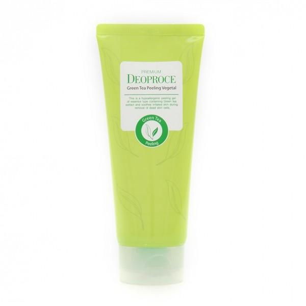пилинг- скатка на основе зеленого чая deoproce premium green tea peeling vegetalPremium Green Tea Peeling Vegetal. Пилинг- скатка на основе зеленого чая<br><br>Нежное и глубокое очищение кожи, обладает мощным антиоксидантным действием, увлажняет, улучшает тонус кожи и уменьшает отечность, оказывает успокаивающее, антибактериальное действие.<br><br>Состав пилинга полностью гипоаллергенный, не раздражает кожу, придает ей свежесть, сияние и увлажнение.&amp;nbsp;<br><br>Преимущество пилинга в том, что он абсолютно не травмирует кожу, кроме того, что пилинг эффективно очищает кожу, оказывает массажное действие, благодаря которому улучшается кровообращение, стимулируется регенерация клеток кожи.<br><br>Пилинг подходит для всех типов кожи – как для жирной, проблемной, так и для сухой, чувствительной.<br><br>При жирной коже рекомендуется использовать пилинг 1- 2 раза в неделю, (при сухой и чувствительной кожи – 1 раз в неделю).<br><br>Объем: 170 гр<br><br>Вес г: 170.00000000