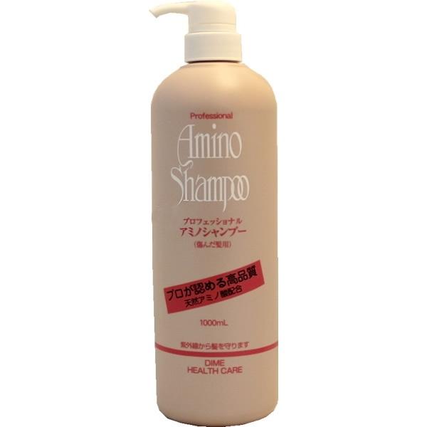 шампунь с аминокислотами для поврежденных волос dime professional amino shampooProfessional Amino Shampoo. Шампунь с аминокислотами для поврежденных волос - слабокислотный шампунь с содержанием аминокислот.<br>Аминокислоты энергетически богатые вещества, оживляющие обменные процессы в коже головы, что способствует укреплению волосяной фолликулы и улучшению питания волос.<br>Входящий в состав шампуня гидролизированный коллаген является компонентом, способствующим сохранению необходимой увлажненности волос.<br><br>В комплексе с другими влагосберегающими составляющими шампунь придает блеск и мягкость волосам поврежденным, сухим, после химической завивки и окрашивания.<br>Защищает от воздействия УФ-лучей.<br><br>Меры предосторожности: не использовать при появлении покраснений, зуда, раздражения кожи. В случае возникновения аллергических реакций, прекратите использование средства и проконсультируйтесь с дерматологом.<br><br>Способ применения: нанесите шампунь на влажные волосы, хорошо вспеньте, смойте теплой водой.<br><br>Состав: вода, лаурилсульфат натрия, кокамид DEA, олефин (С14-16) сульфокислота натрия, стеарат гликоль, феноксиэтанол, кокоилглутаминовая кислота, глицерил, гидролизованный коллаген, оксибензон-4, полиакватерниум-10, диметиконкополиол, хлорид аммония, парабены, фосфорная кислота, тетранатриевая соль ЭДТА, метилпарабены, пропилпарабены, голубой.<br><br>1000 мл.<br>