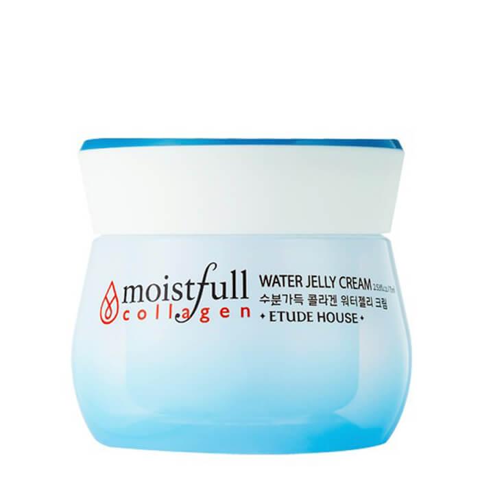 крем-гель для лица увлажняющий с коллагеном  etude house  moistfull collagen water jelly cream