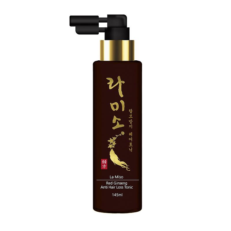 тоник против выпадения волос с экстрактом красного женьшеняRed Ginseng Anti Hair Loss Tonic. Тоник против выпадения волос с экстрактом красного женьшеня<br><br>&amp;nbsp;<br><br>Основным действующим компонентом средства является экстракт корня красного корейского женьшеня. Он богат витаминами группы В, сапонинами, гликозидами, флавоноидами, энзимами, антиоксидантами, органическими кислотами и аминокислотами.<br><br>&amp;nbsp;<br><br>Корень красного корейского женьшеня известен во всем мире благодаря сильному восстанавливающему и укрепляющему эффекту, который он оказывает на организм человека.<br><br>&amp;nbsp;<br><br>Тоник укрепляет корни волос и препятствует их выпадению. Экстракты зеленого чая и корня солодки успокаивают чувствительную кожу головы, обладают антибактериальным и противовоспалительным действием. Салициловая кислота нормализует себорегуляцию, &amp;nbsp;а ментол приятно охлаждает кожу головы.<br><br>&amp;nbsp;<br><br>Подходит для всех типов волос<br><br>&amp;nbsp;<br><br>Применение: Используйте после применения шампуня. Тщательно встряхните флакон перед применением. С помощью удобного дозатора равномерно нанесите средство на кожу головы, помассируйте, оставьте до полного впитывания. Не смывайте.<br><br>&amp;nbsp;<br><br>Состав: Water, Alcohol Denat, Propylene Glycol, Tocopheryl Acetate, Red Gingseng Extract (Panax Ginseng Root Extract), Camellia Sinensis Leaf Extract, Sodium Lactate, Salicylic Acid, Eucalyptus Globulus Leaf Extract, Menthol, Niacinamide, Polysorbate 20, Polysorbate 60, Sorbitan Sesquioleate, Dipotassium Glycyrrhizate, Xanthan Gum, Methylparaben, Fragrance<br><br>&amp;nbsp;<br><br>Объем: 145мл<br>