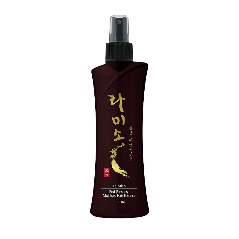 увлажняющая эссенция для волос с экстрактом красного женьшеняRed Ginseng Moisture Hair Essence. Увлажняющая эссенция для волос с экстрактом красного женьшеня<br><br>Основным действующим компонентом средства является экстракт корня красного корейского женьшеня. Он богат витаминами группы В, сапонинами, гликозидами, флавоноидами, энзимами, антиоксидантами, органическими кислотами и аминокислотами.<br><br>&amp;nbsp;<br><br>Корень красного корейского женьшеня известен во всем мире благодаря сильному восстанавливающему и укрепляющему эффекту, который он оказывает на организм человека.<br><br>&amp;nbsp;<br><br>Гиалуроновая кислота и аллантоин в составе средства оказывают интенсивное увлажняющее действие. Эссенция возвращает здоровый блеск и сияние сухим, поврежденным волосам, предотвращает спутывание и обладает анти-статическим действием.<br><br>&amp;nbsp;<br><br>Подходит для всех типов волос<br><br>&amp;nbsp;<br><br>Применение: Равномерно распылите средство на влажные или сухие волосы на расстоянии 10-15см от волос<br><br>&amp;nbsp;<br><br>Состав: Water, Alcohol Denat, Glycerin, Propylene Glycol, Red Ginseng Extract (Panaxginseng root Extract), Sodium Hyaluronate, Nonoxynol-12, PEG-40 Hydrogenated Castor Oil, Methylparaben, Sodium Lactate, Allantoin, Lactic Acid, Styrene/VP Copolymer, Fragrance<br><br>&amp;nbsp;<br><br>Объем: 150мл<br>