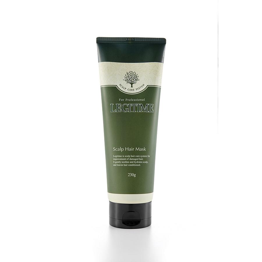 маска для волос и кожи головыScalp Hair Mask. Маска для волос и кожи головы<br><br>Линейка продуктов Legitime разработана для профессионального ухода за волосами и кожей головы в домашних условиях.<br><br>&amp;nbsp;<br><br>Маска для волос содержит цинк пиритион – комплекс активных веществ, содержащих цинк, и климбазол, которые эффективно борются с бактериями, вызывающими появление перхоти и являющимися причиной выпадения волос, снимают раздражение и зуд.<br><br>&amp;nbsp;<br><br>Растительный комплекс, включающий экстракты пяти растений (розмарин, лаванда, перечная мята, ромашка и бергамот) обладает антиоксидантным эффектом, успокаивает и восстанавливает поврежденную кожу головы. Ментол дарит ощущение свежести и чистоты.<br><br>&amp;nbsp;<br><br>Рекомендуется для всех типов кожи<br><br>&amp;nbsp;<br><br>Способ применения:<br><br>1. &amp;nbsp; &amp;nbsp; &amp;nbsp;Нанесите маску равномерно на слегка влажные волосы и кожу головы<br><br>2. &amp;nbsp; &amp;nbsp; &amp;nbsp;Помассируйте<br><br>3. &amp;nbsp; &amp;nbsp; &amp;nbsp;Наденьте полиэтиленовую шапочку и укутайте голову теплым полотенцем.<br><br>4. &amp;nbsp; &amp;nbsp; &amp;nbsp;Оставьте для воздействия на 5-10 минут<br><br>5. &amp;nbsp; &amp;nbsp; &amp;nbsp;Тщательно промойте проточной водой<br><br>6. &amp;nbsp; &amp;nbsp; &amp;nbsp;Используйте 3-4 раза в неделю<br><br>&amp;nbsp;<br><br>Состав: Water, Stearyl Alcohol, Glycol Distearate, Sorbitol, Cocamide MEA, Cocamide DEA, Cetearyl alcohol, Behentrimonium Chloride, Laureth-4, Cetrimonium Chloride, Menthol, Isopropyl Alcohol, Cocamidopropyl Betaine, Zync Pyrithione, Citric Acid, Sodium Chloride, Buteth-3, Dipotassium Glycyrrhizate, Climbazole, Butylene Glycol, Magnesium Nitrate, Sodium Polynaphthalenesulfonate, Tributyl Citrate, Magnesium Chloride, Prunus Mume Fruit Extract, Tremella Fuciformis (Mushroom) Extract, Oryza Sativa (Rice) Extract, Lonicera Japonica (Honeysuckle) Flower Extract, Rosmarinus Officinalis (Rosemary) Extract, Monarda Didyma Leaf Extract, Men