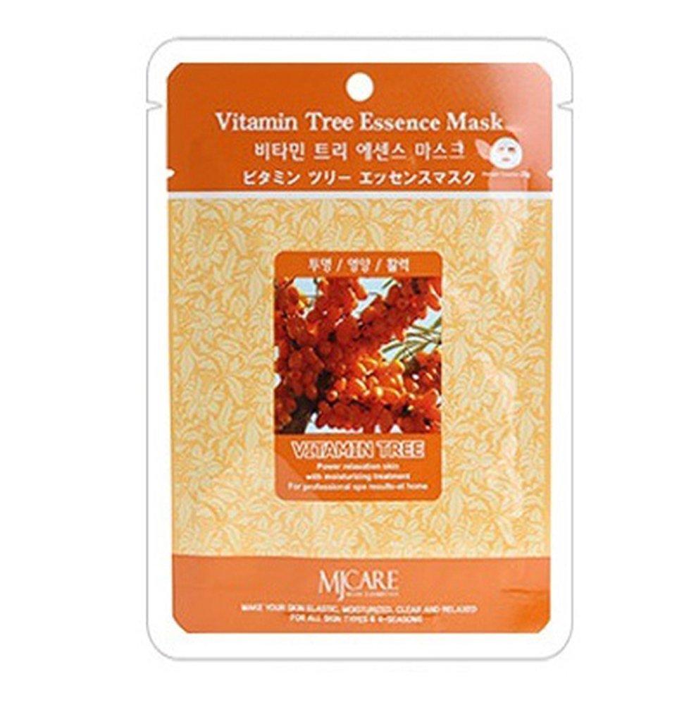 маска тканевая облепиха mijin vitamine tree essence maskVitamin Tree Essence Mask. Маска тканевая облепиха устраняет воспаления и раздражения, а также разглаживает морщинки и замедляет старение кожи. Маска очень полезна и эффективна, а ее применение сравнимо с дорогими spa- процедурами. Ягоды облепихи богаты жирными кислотами, микроэлементами и витаминами А,В,С,Е и Р. Экстаркт облепихи богат растительными антиоксидантами, а также это источник Омега-7- самой пальмитолеиновой кислоты-главного элемента кожи.<br><br>Способ применения: Поместите маску на очищеное лицо обеспечив хороший контакт с&amp;nbsp; кожей лица по всей площади нанесения.Снимите через 20 минут. Оставшуюся на лице эссенцию аккуратно разгладьте пальцами по косметическим линиям для лучшего впитывания в кожу.&amp;nbsp; &amp;nbsp;<br><br>Объем: 23гр<br><br>Дата изготовления&amp;nbsp; (срок годности) указана на&amp;nbsp; упаковке<br><br>Вес г: 23.00000000