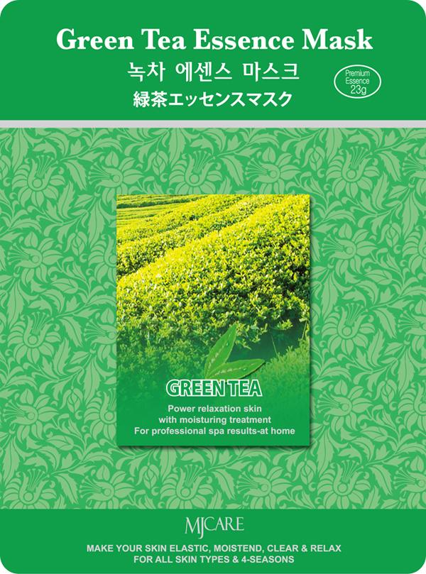 маска тканевая зеленый чай  mijin green tea essence maskGreen Tea Essence Mask. Маска тканевая зеленый чай cодержит полифенолы, активность которых в несколько раз превышает активность витамина Е. Оказывает противовоспалительное и антибактериальное действие, способствуют проникновению биологически активных веществ в кожу. Кофеин улучшает микроциркуляцию крови и питание кожи, уменьшает отечность; танины придают коже упругость. Активизирует кровообращение, снабжает клетки кислородом, усиливает защитные свойства кожи.<br><br>Способ применения: Поместите маску на очищеное лицо обеспечив хороший контакт с кожей. Снимите через 20 минут. Оставшуюся на лице эссенцию аккуратно разгладьте пальцами до полного впитывания. &amp;nbsp;<br><br>Объем: 23гр&amp;nbsp;&amp;nbsp;&amp;nbsp;<br><br>Дата изготовления&amp;nbsp; (срок годности) указана на&amp;nbsp; упаковке<br><br>Вес г: 23.00000000