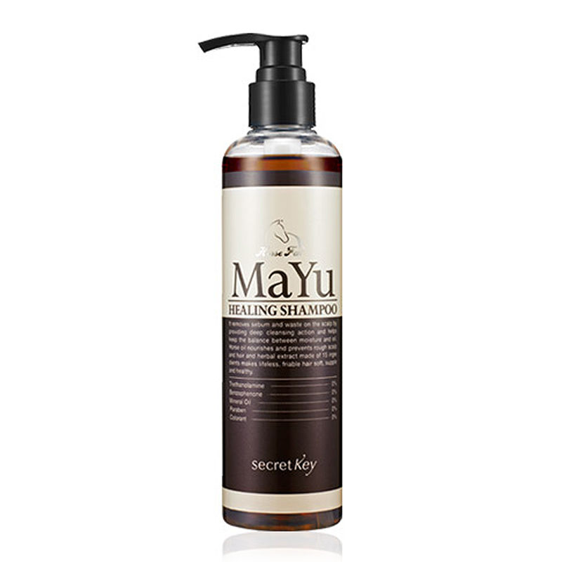 шампунь лечебный secret key mayu healing shampoo