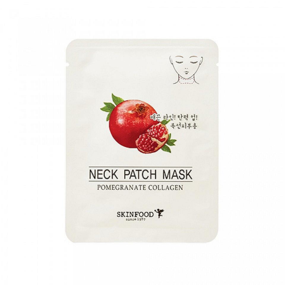 маска для шеи антивозрастнаяPomegranate Collagen Neck Patch Mask. Маска для шеи антивозрастная<br><br>Маска содержит экстракт граната, гидролизованный коллаген и т.д.<br><br>&amp;nbsp;<br><br>Маска восстанавливает упругость и эластичность кожи, улучшает гидро-баланс кожи, обладает антивозрастным действием, препятствует образованию морщин.<br><br>&amp;nbsp;<br><br>Экстракт граната стимулирует образование аквапоринов, обладает противовоспалительной активностью; обладает антиоксидантным потенциалом, уменьшает трансэпидермальную потерю влаги кожей, восстанавливая ее барьерные свойства.<br><br>&amp;nbsp;<br><br>Коллагеновые волокна поддерживают кожу изнутри, придают ей свежесть и гладкость.<br><br>&amp;nbsp;<br><br><br>Оба активных ингредиента &amp;nbsp;известны своими омолаживающими свойствами, благодаря которым маска обладает способностью сохранять молодость.<br><br>&amp;nbsp;<br><br>Достаточно дважды в неделю использовать маску, чтобы уже через месяц получить заметные результаты.<br><br>&amp;nbsp;<br><br><br>&amp;nbsp;<br><br>Способ применения: снимите тонкую защитную плёнку и приложите маску к коже шеи на 15-20 мин.<br><br>&amp;nbsp;<br><br>Объем: 10 гр<br><br>&amp;nbsp;<br><br>Вес г: 10.00000000
