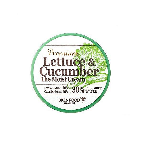 крем увлажняющий с экстрактом листьев салата и огурцаPremium Lettuce &amp;amp; Cucumber The Moist Cream. Крем увлажняющий с экстрактом листьев салата и огурца<br><br>Крем содержит экстракт салата, &amp;nbsp;экстракт огурца, &amp;nbsp;водный настой огурца т.д. Крем превосходно улучшает цвет лица, устраняет покраснение, отечность и успокаивает раздраженную кожу, смягчает и придает коже гладкость.<br><br>&amp;nbsp;<br><br>Экстракты салата и огурцов, богаты &amp;nbsp;витаминами А, Е, С, группы В, РР, Н, эфирные маслами, минералами, нормализуют водный баланс и поддерживают уровень влаги в коже.<br><br>&amp;nbsp;<br><br>Крем обладает гелевой текстурой, интенсивно увлажняет кожу устраняет сухость, шелушение.<br><br>&amp;nbsp;<br><br>Не содержит искусственных красителей, минерального масла, мочевины, бензофенона, триэтаноламина, талька.<br><br>&amp;nbsp;<br><br>Применение: Нанесите крем на кожу лица по массажными движениями.<br><br>&amp;nbsp;<br><br>Объем: 78 мл<br><br>&amp;nbsp;<br>
